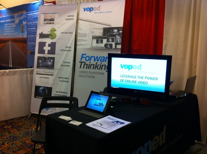 voped Streaming Media East 2012