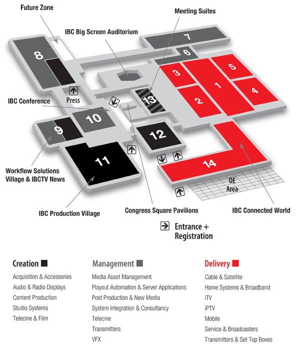 IBC2012 Floor Plan
